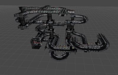 Final level design.
